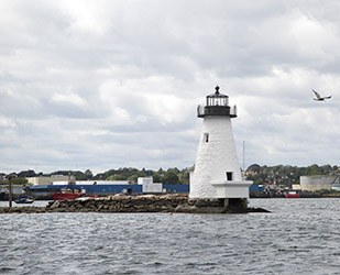 Palmer Island Lighthouse - Inner Harbor