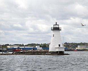 Palmer Island Lighthouse - Inner Harbor